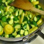 zuchete in tecia - zucchine al tegame alla triestina