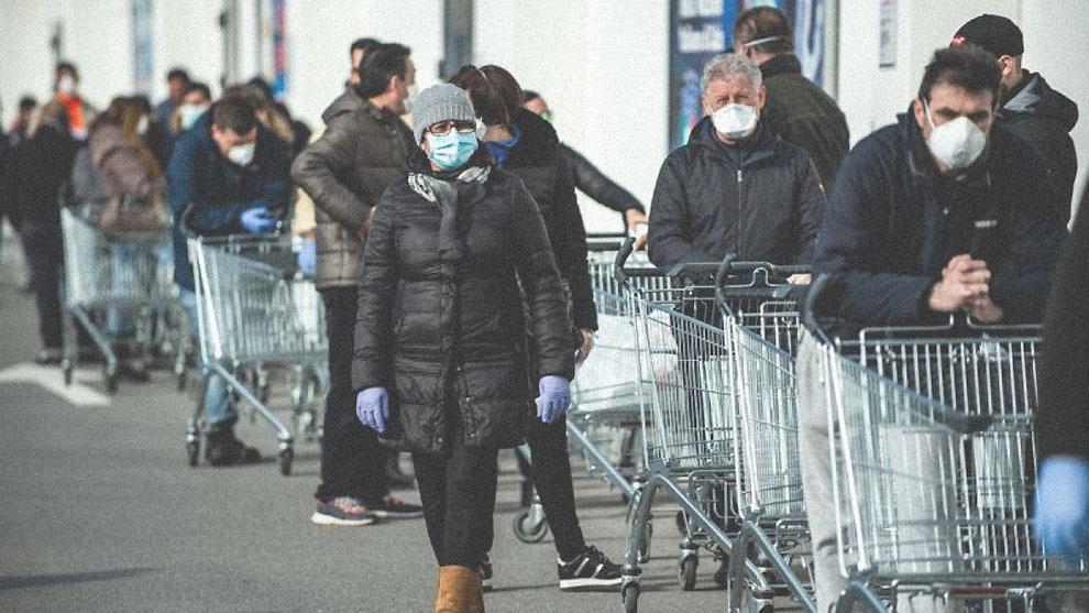 fila supermarket