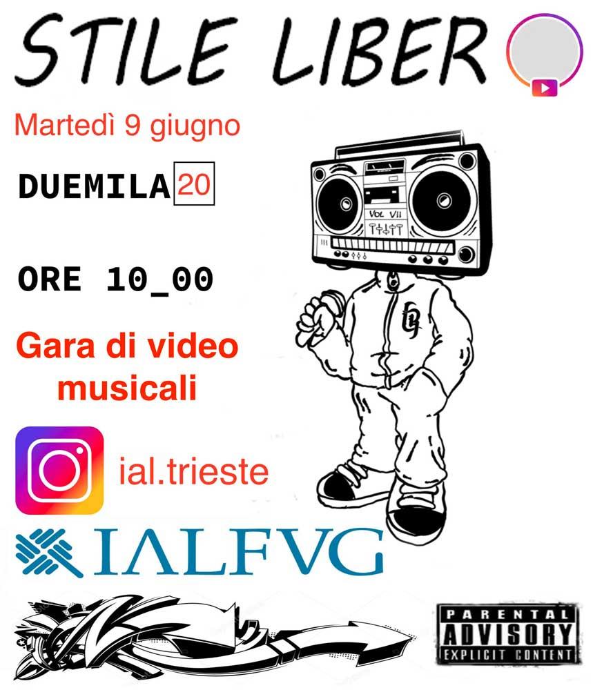 IAL Trieste, concorso di testi rap Prima edizione di
