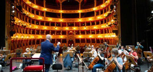 Teatro Verdi di Trieste prove di concerto