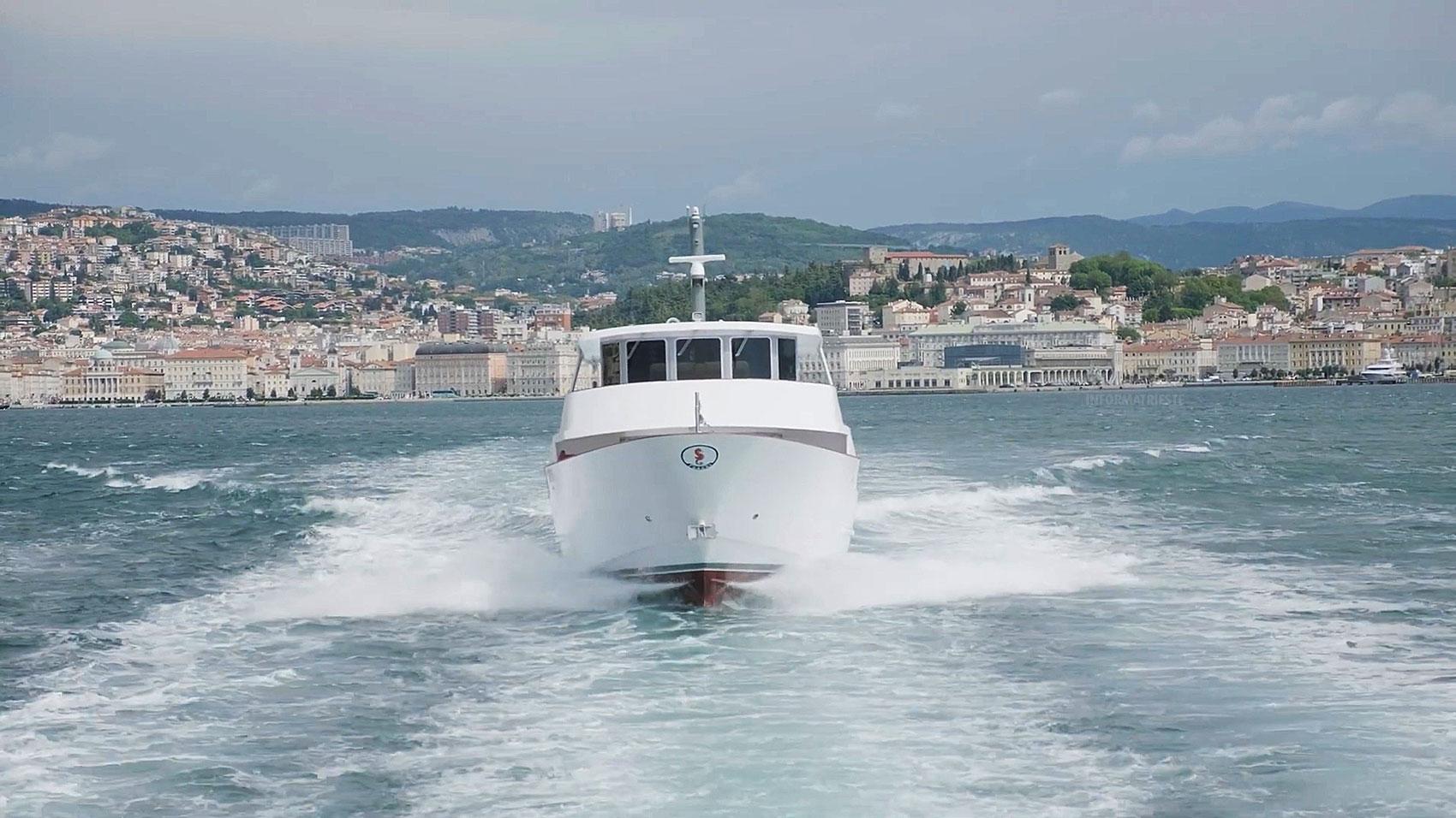 Delfino Verde motonave Trieste