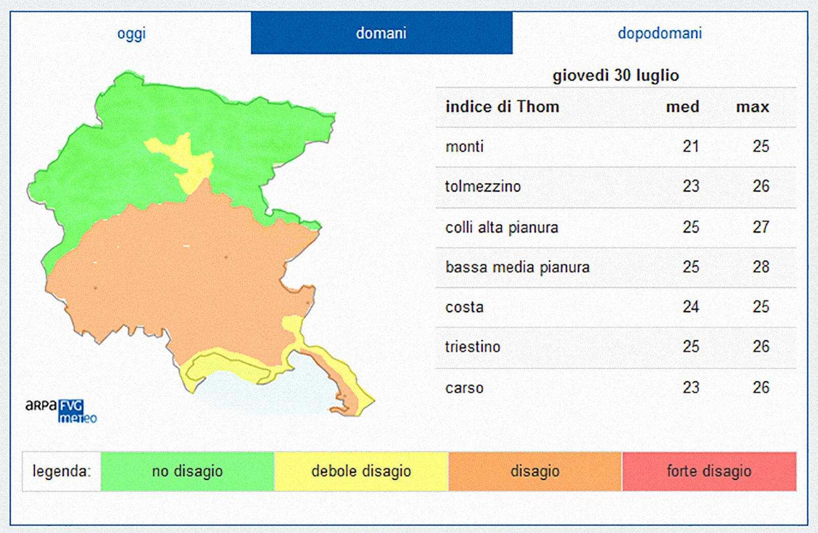 mappa del disagio