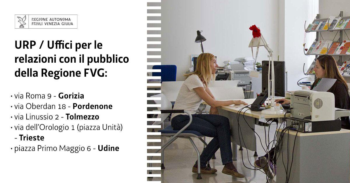 URP ufficio relazioni con il Pubblico