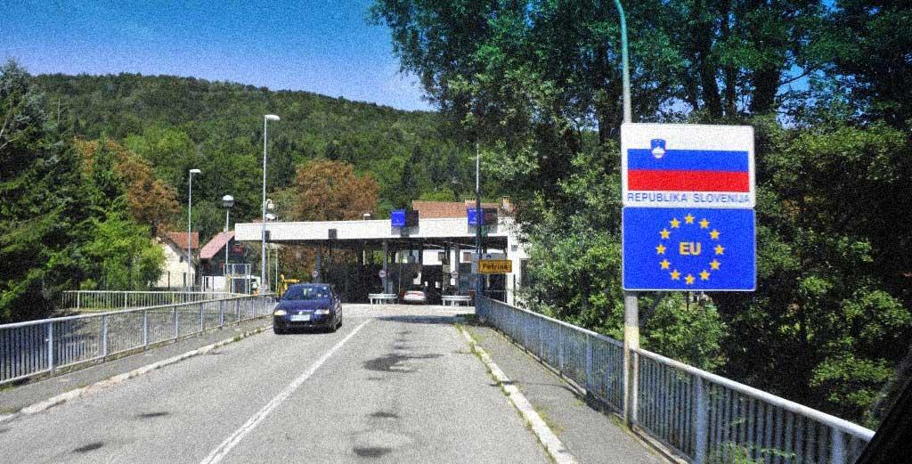 confine Slovenia Croazia valico secondario