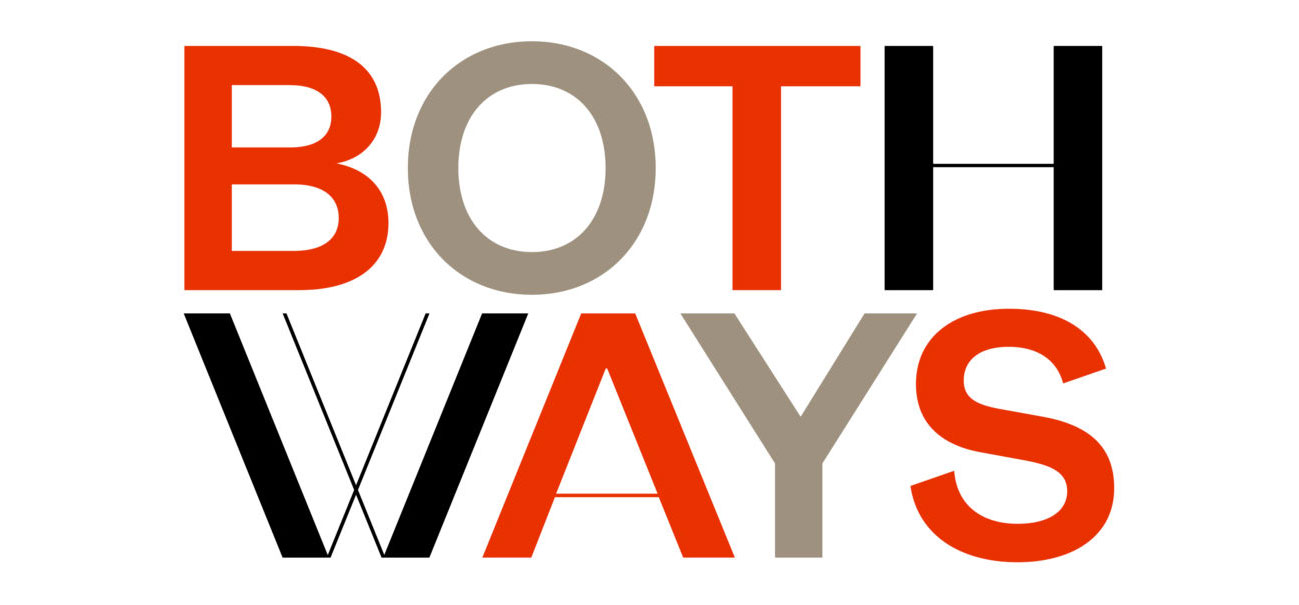 Both Ways - Paolo Tassinari, logotipo, 2020