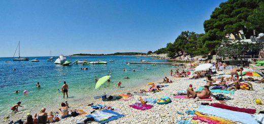 Croazia spiaggia