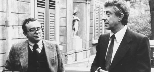 Michele Zanetti e Franco Basaglia - foto Claudio Ernè