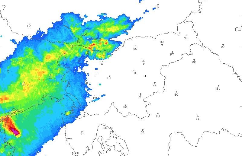 meteo Trieste 23 agosto 2020
