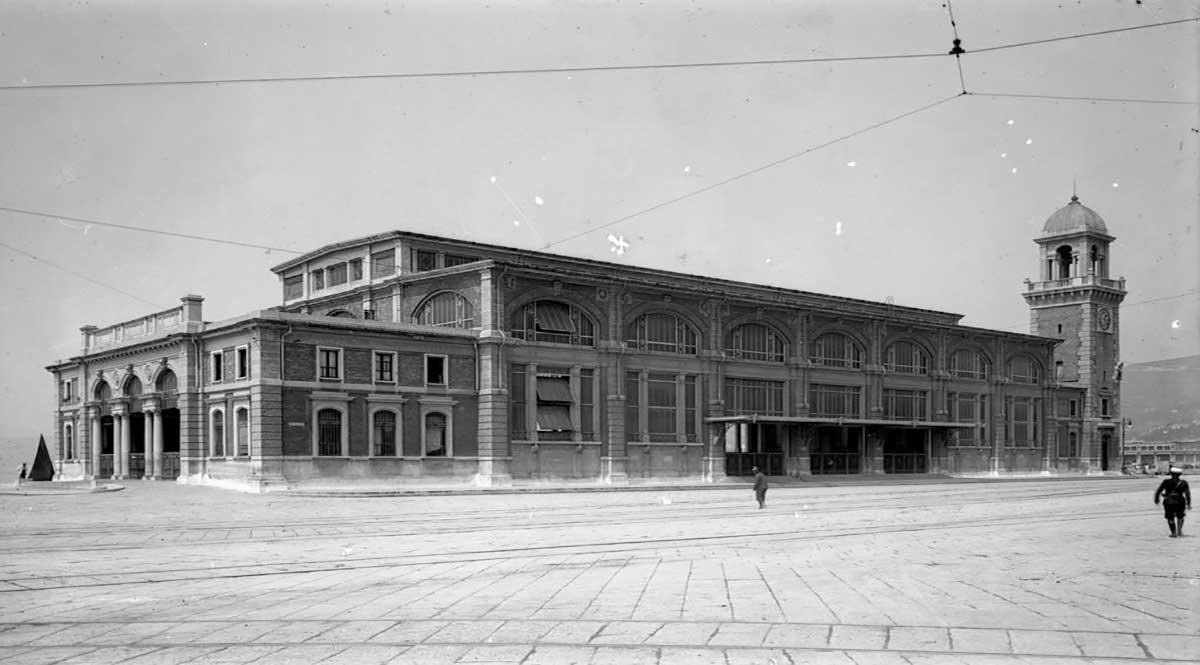 Acquario di Trieste foto storica
