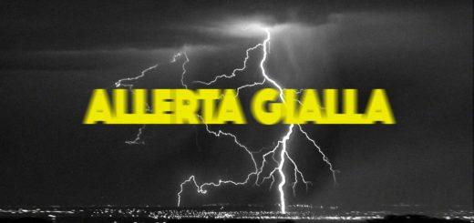 allerta gialla Protezione Civile temporale