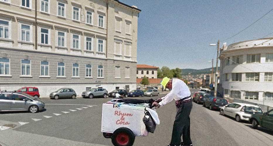 anziano spacciatore coca via molino a vento Trieste