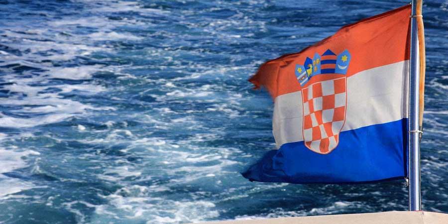 bandiera croata Croazia