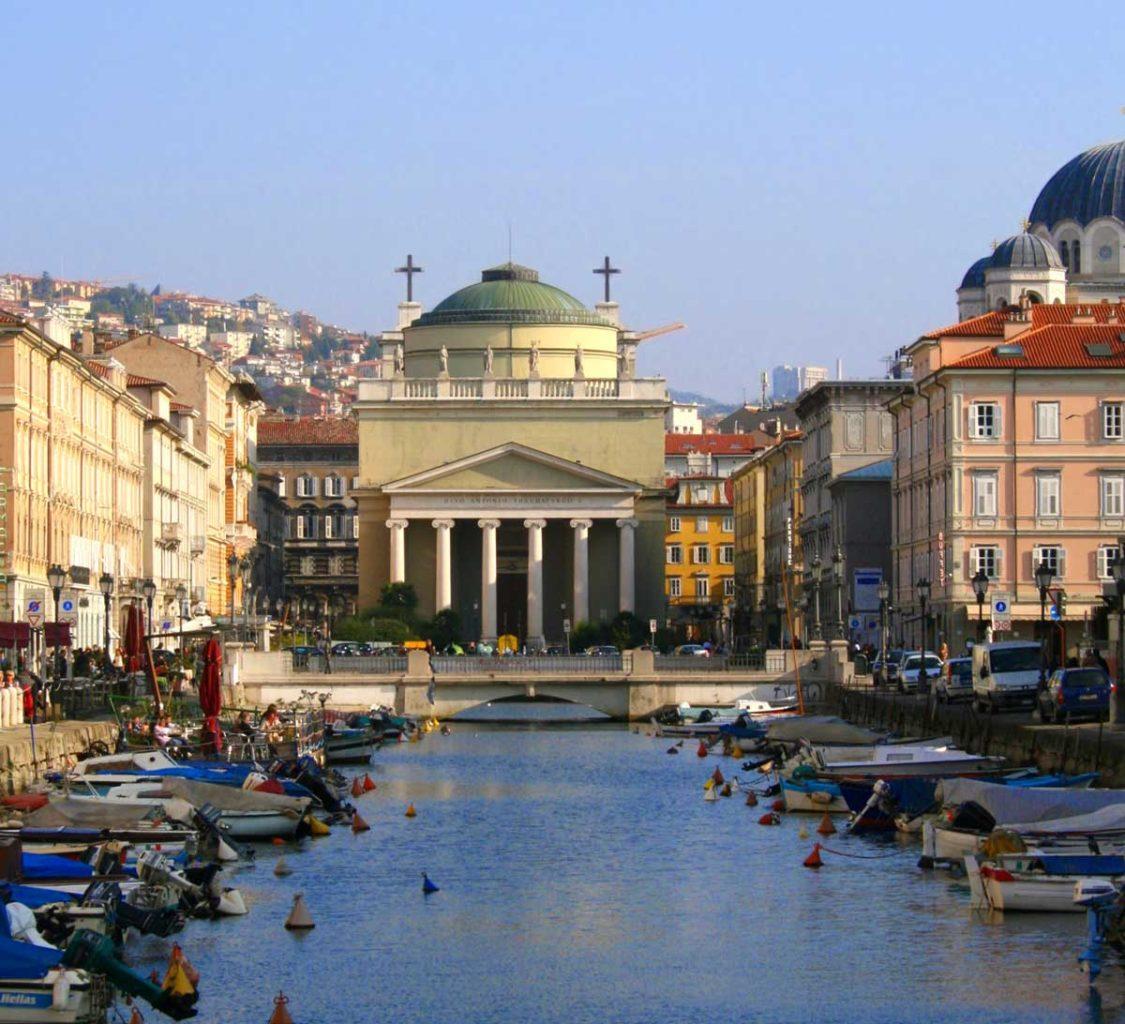 Canale Ponterosso Trieste