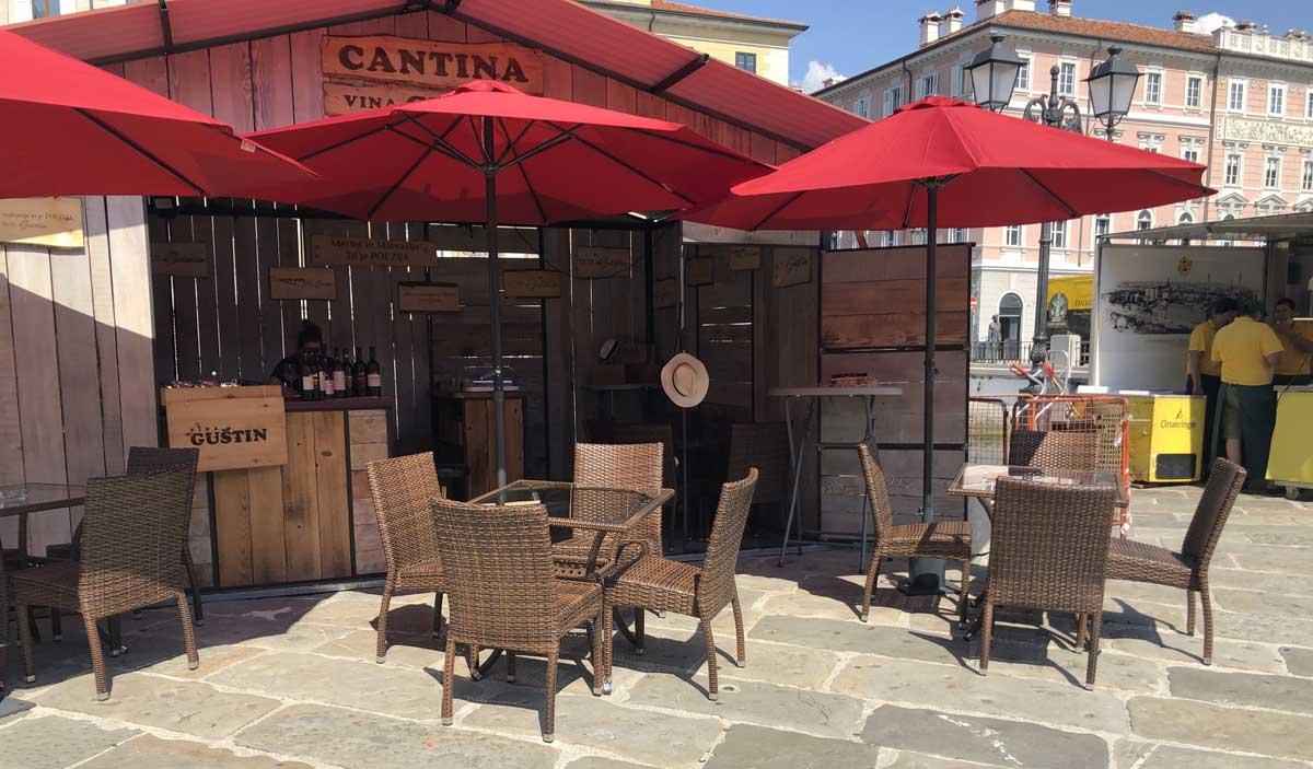 Piazza Austria - Cantina Gustin