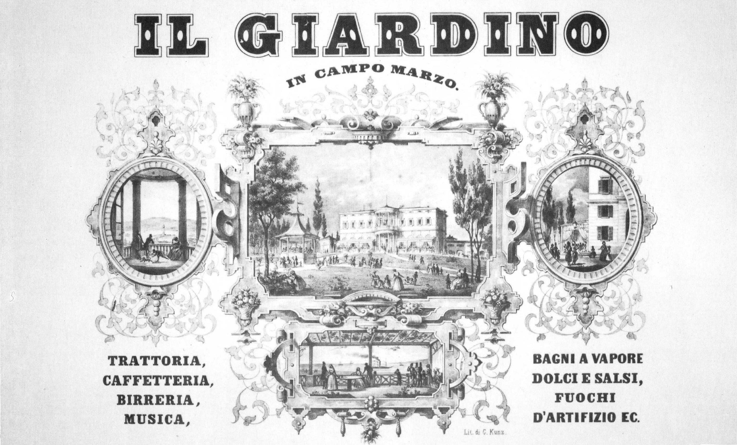 Il Giardino in Campo Marzo