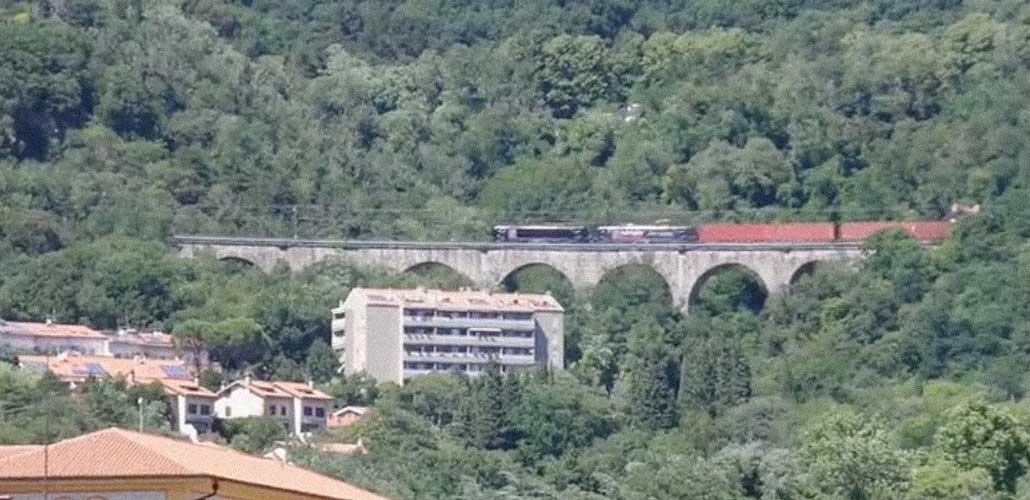 linea Transalpina treno