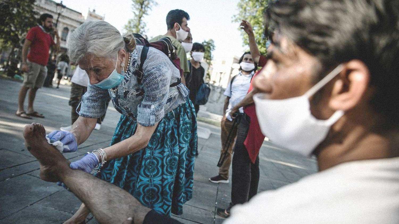 Lorena Fornasir piazza Libertà Trieste rotta balcanica migranti