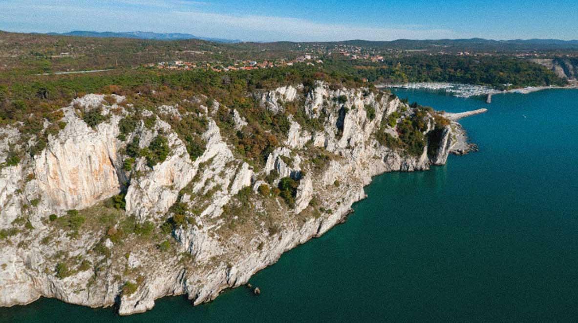 Costa di Trieste da Duino a Sistiana