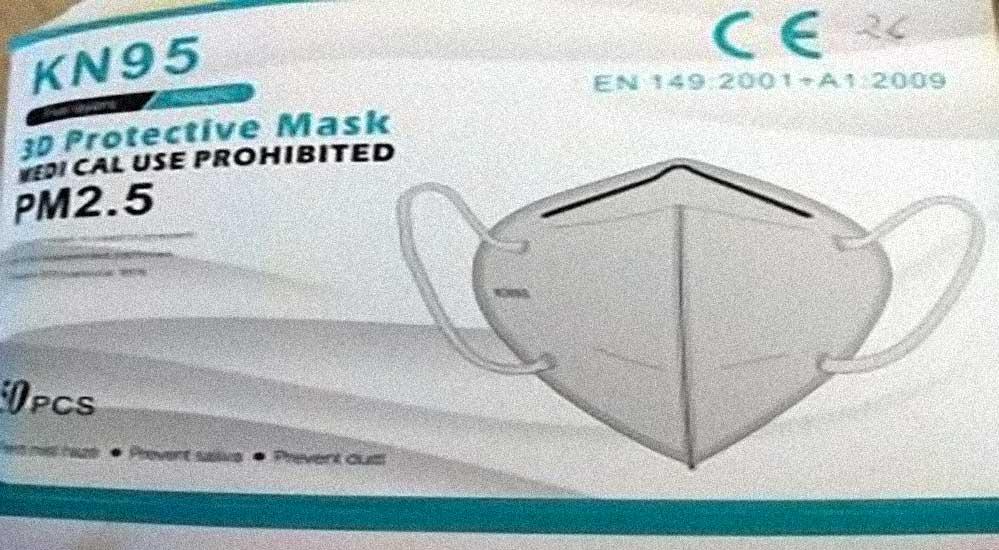 mascherina FP2 proibita