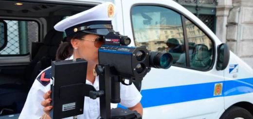 autovelox misurazione velocità Polizia locale Trieste