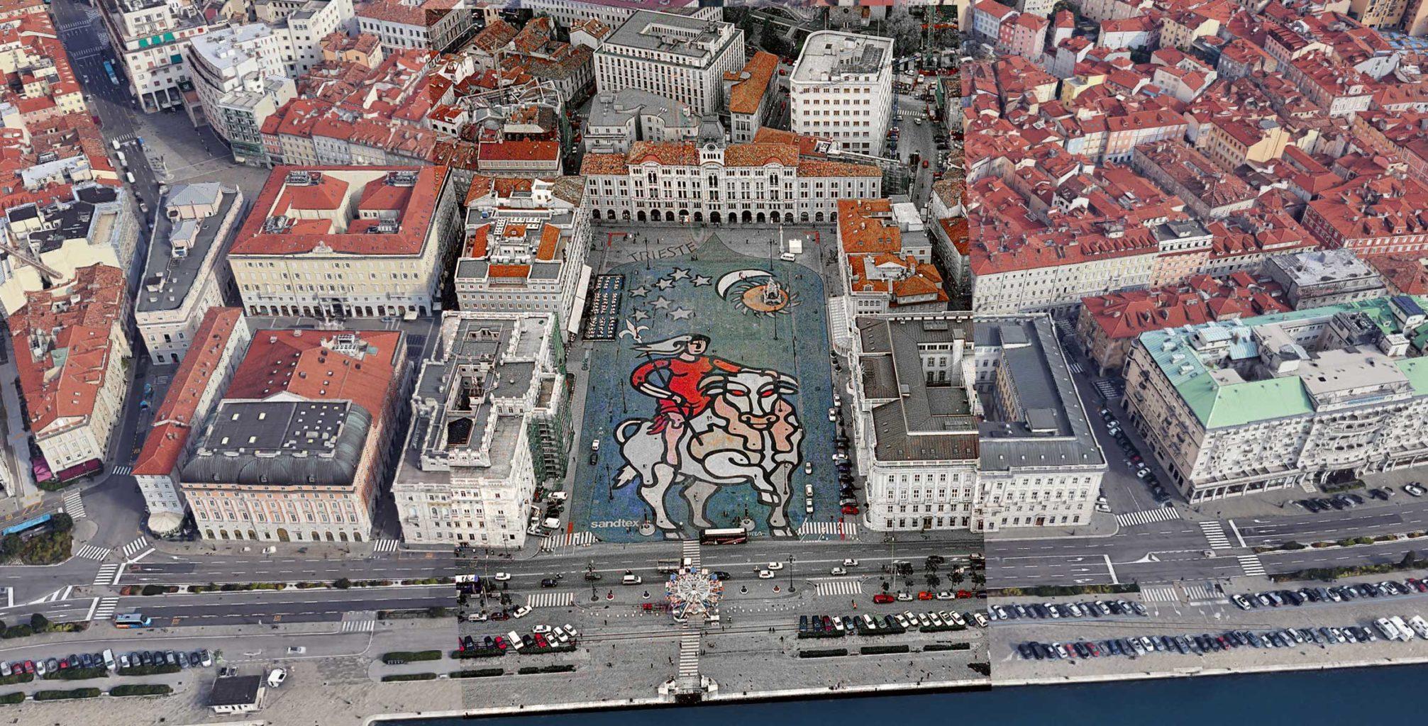 opera Chersicla piazza Grande Trieste