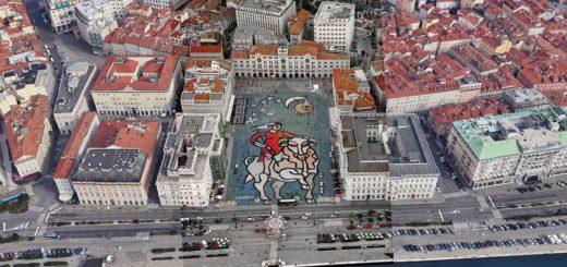 Bruno Chersicla piazza Unità Trieste