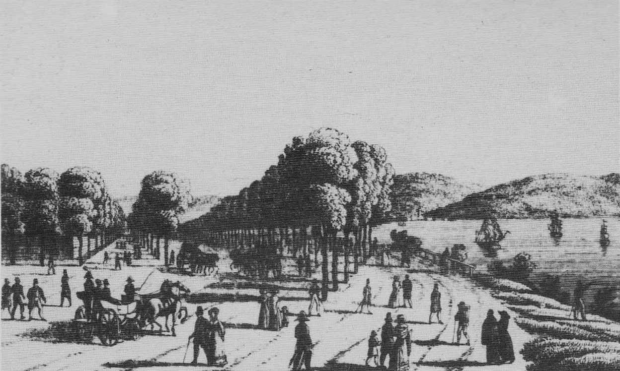 Passeggio Sant Andrea nel 1820