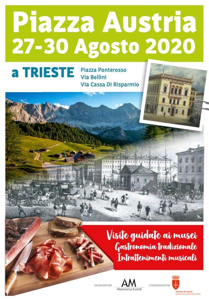 Trieste piazza Austria