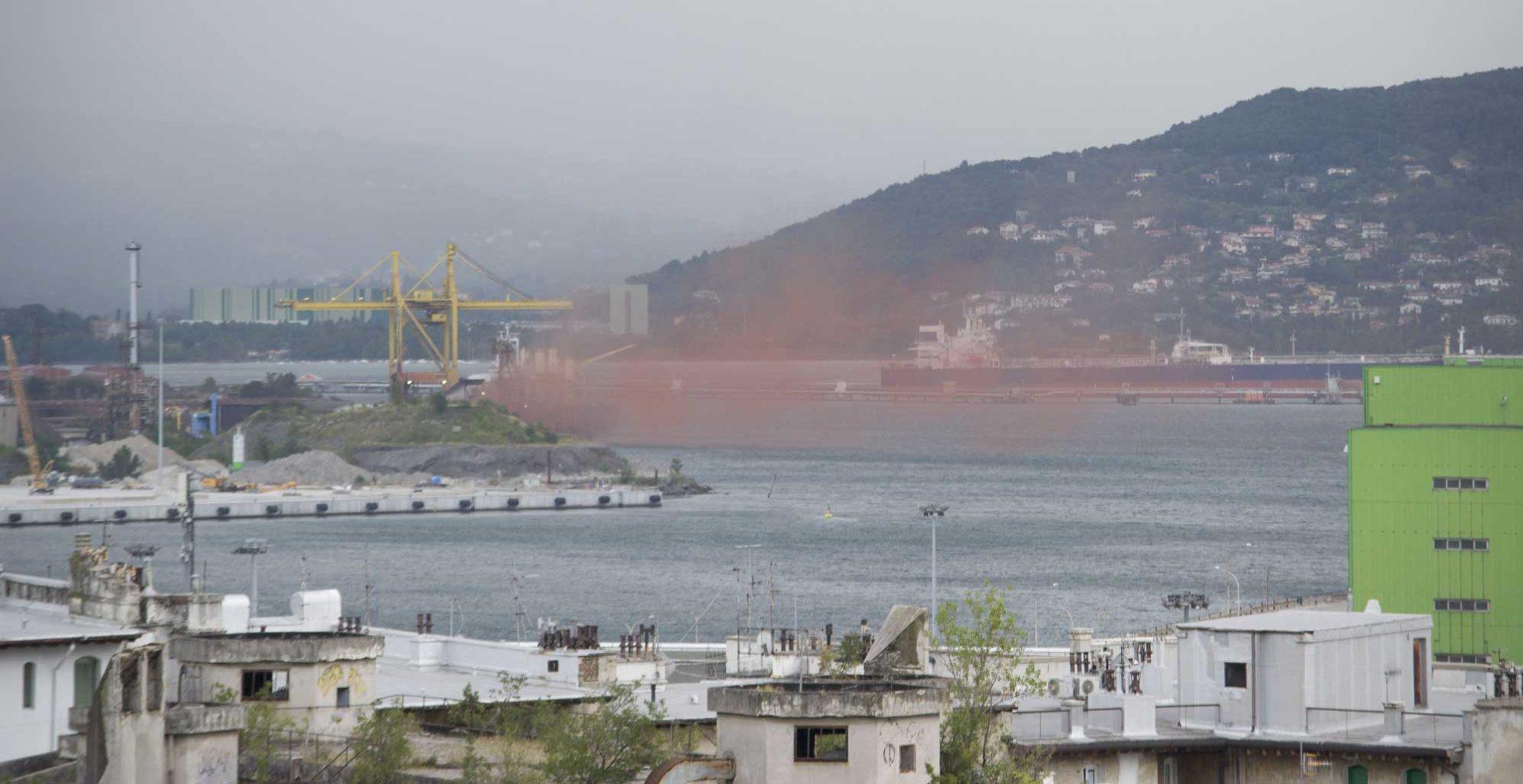 polveri rosse Servola Ferriera Trieste