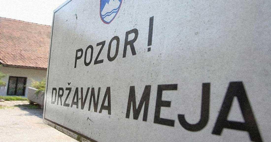 pozor drzavna meja serbia slovenia
