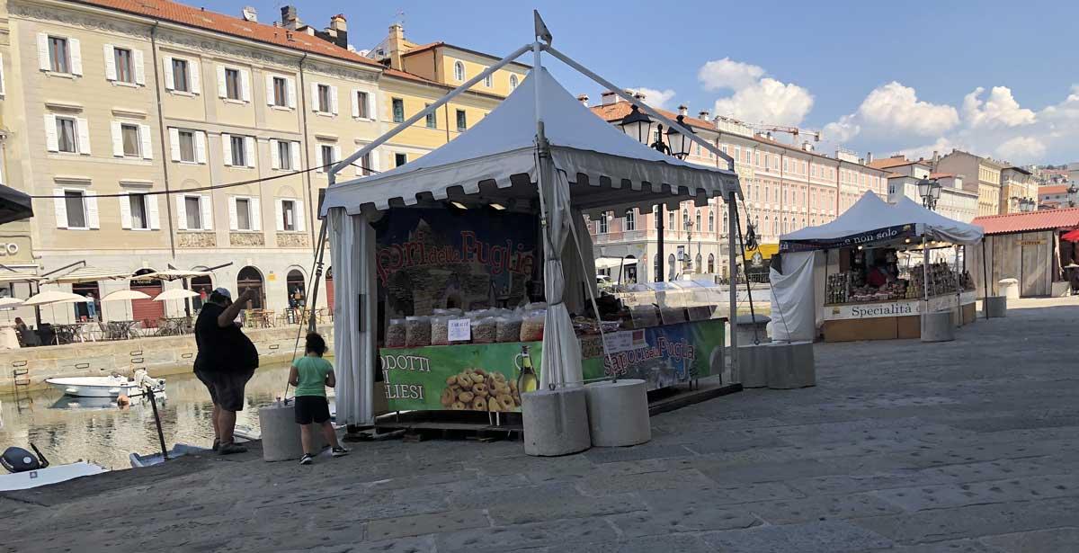 Piazza Austria - Prodotti pugliesi