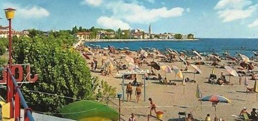 spiaggia di Grado vintage