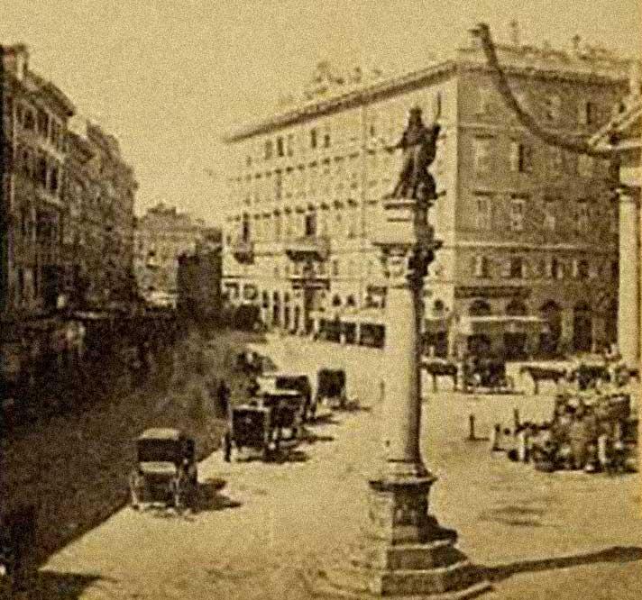 statua Leopoldo I d'Austria - 1874