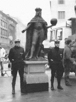 Statua Leopoldo I d'Austria senza colonna 1994