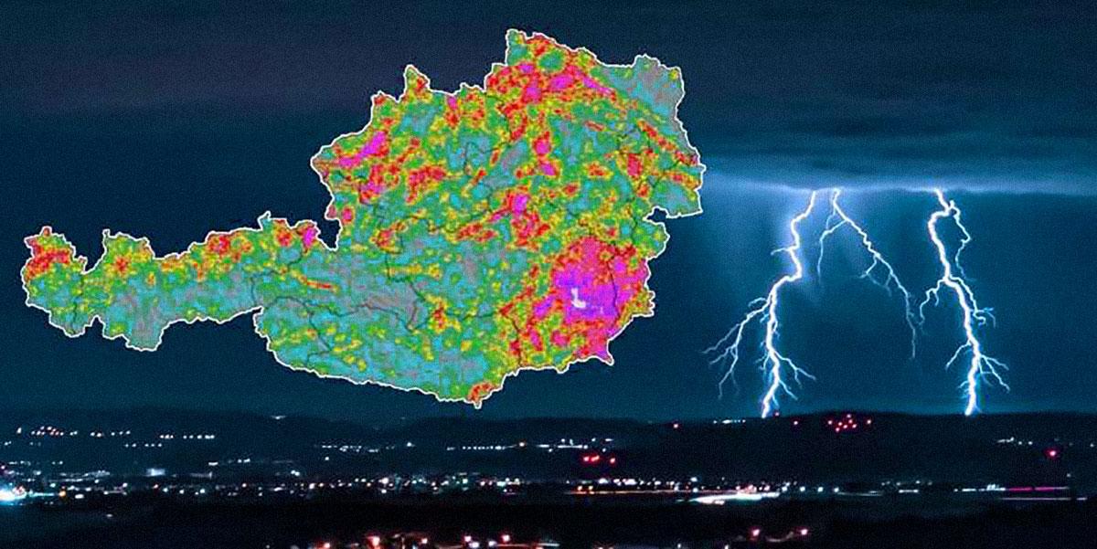 temporale in Austria