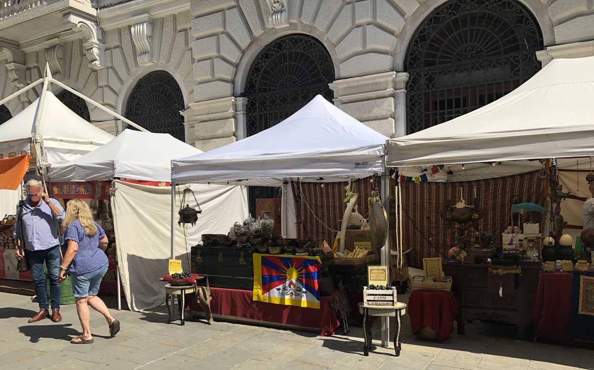 Piazza Austria - Il Tibet