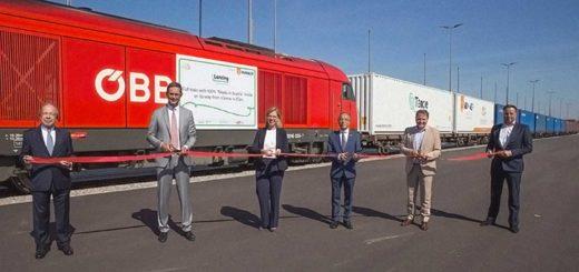 treno Vienna Shangai inaugurazione ferrovia Austria Cina