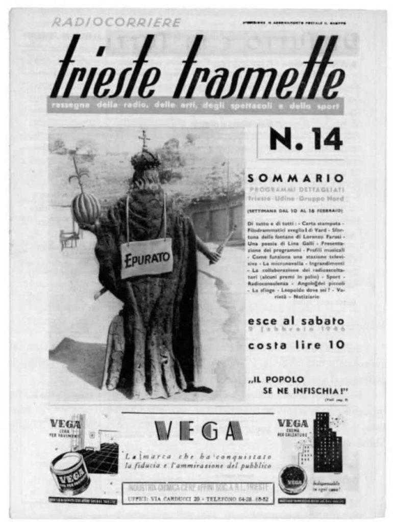 Trieste Trasmette epurato Leopoldo I