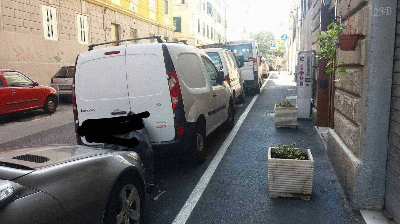 via della Guardia Trieste Osteria dalle Cugine
