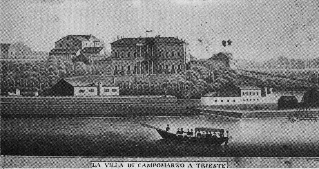 Villa di Campomarzo  Campo Marzio - Trieste