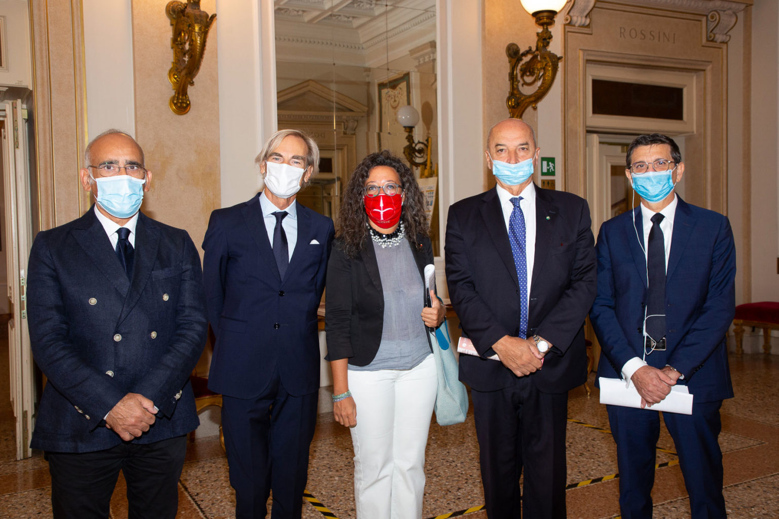 le autorità di Trieste foto F. Parenzan