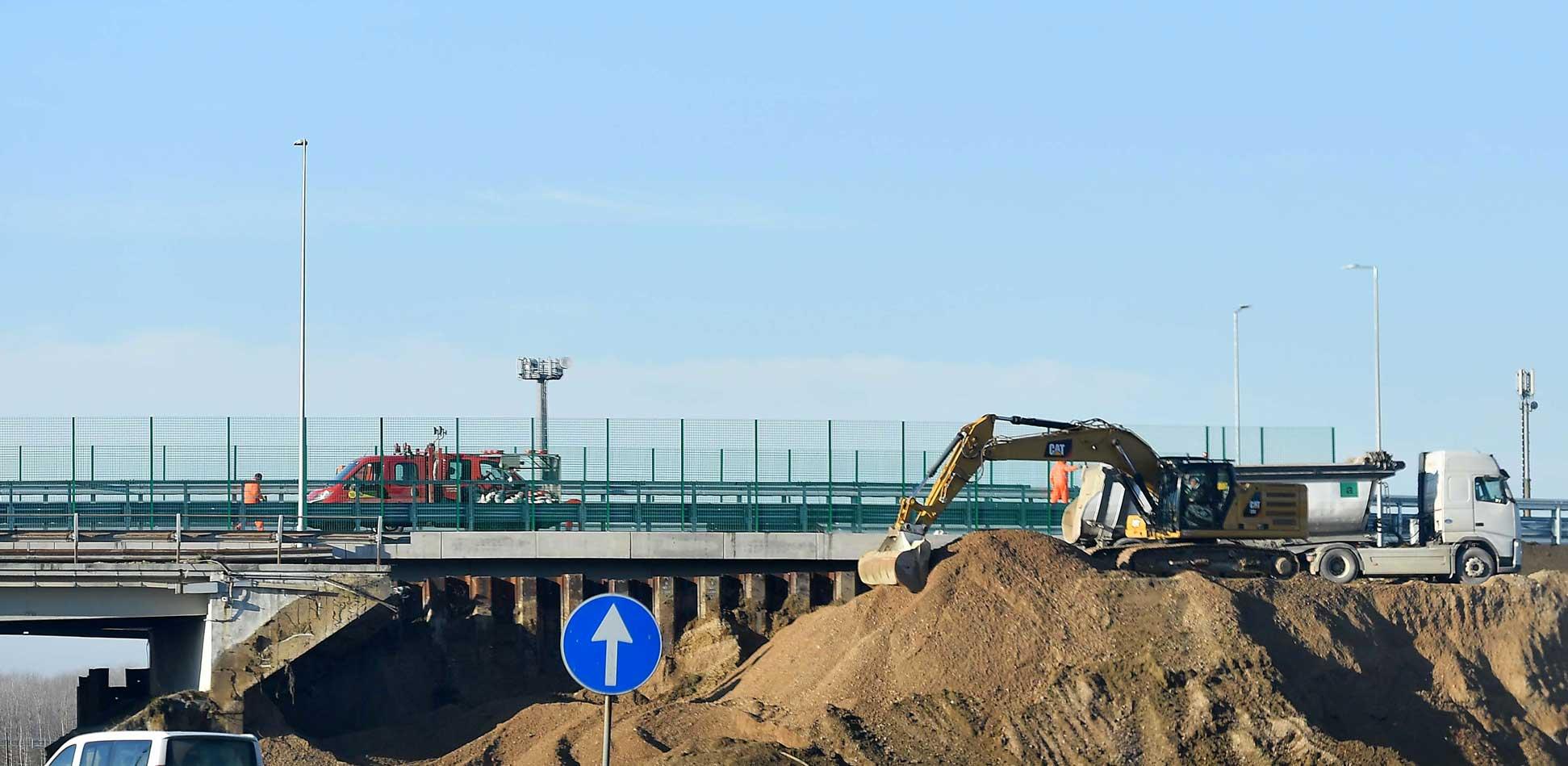 Autovie Venete lavori autostrada