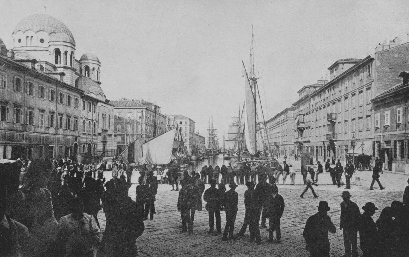 canal grande Trieste via san spiridione