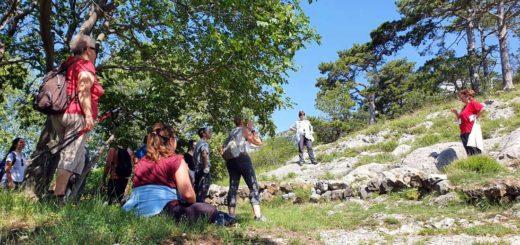 escursione San Pelagio e Slivia