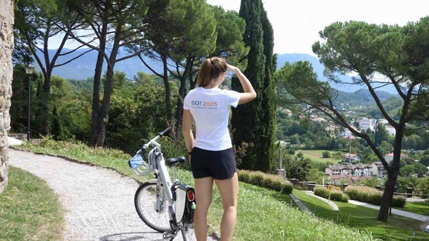 noleggio bici transrontaliero Nova Gorica Gorizia