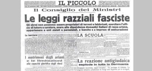 leggi razziali fasciste Il Piccolo di Trieste