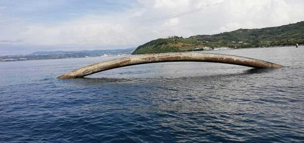 Nessie mostro di Loch Ness presunto in realtà un tubo