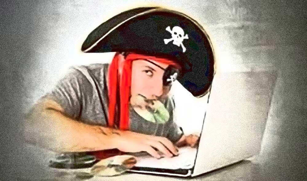 pirata del web