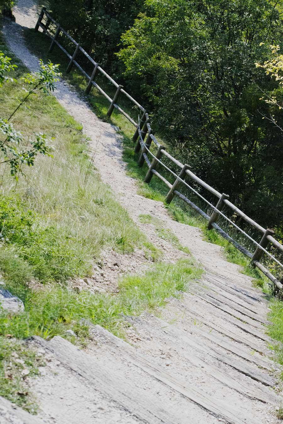 Cornino scale per il belvedere