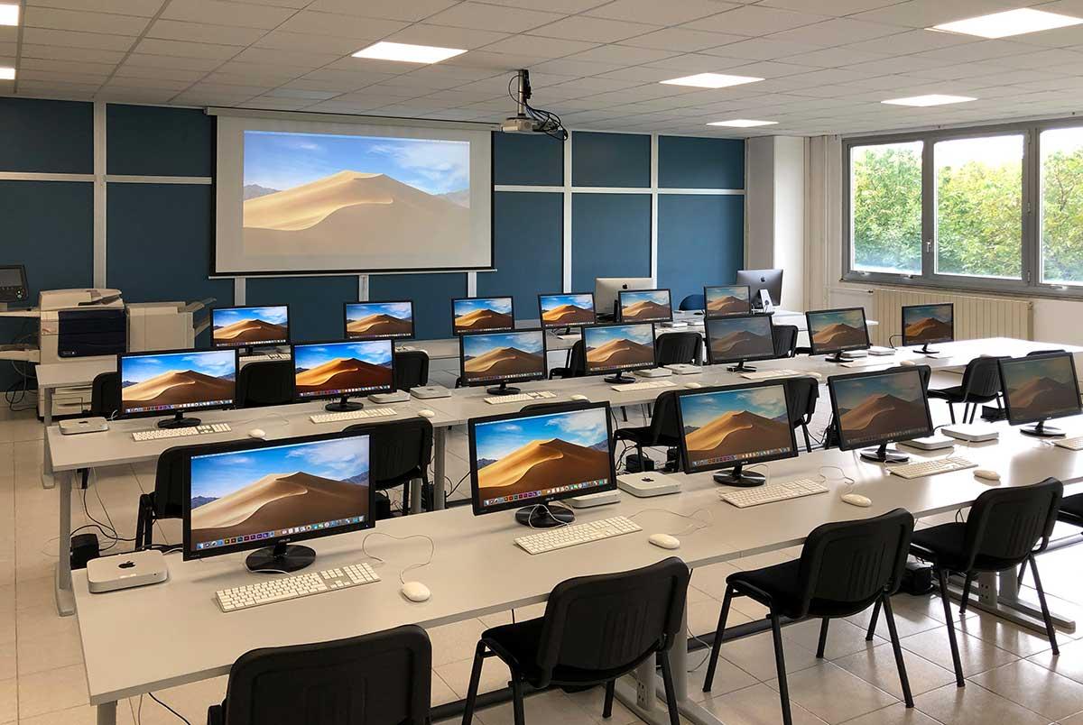scuola Civiform di Opicina laboratorio grafica